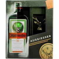 Jägermeister 35% 0,7 ltr.+Ausgießer