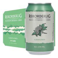 Rekorderlig Elderflower Cider. 4.5% 24 x 330ml