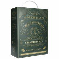 The American Redwood Chardonnay White Wine 13% 3L BIB