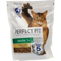 Perfect Fit Cat Dry Sterile 1+ Plenty of Chicken 750g