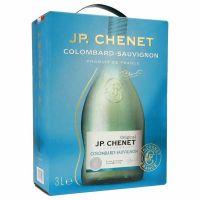 """J.P. Chenet Colombard Sauvignon White Wine Dry 11.5% """"Bag in Box"""" 3L"""