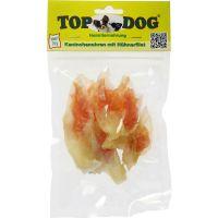 Top Dog Rabbit Ears W. Chicken 70g