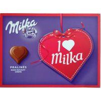 I love Milka Hazelnut Cream Pralinés 110 g