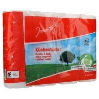 Jeden Tag Kitchen Roll, 3 Lagen 4x51 Blatt