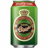 Tuborg Classic Beer 4.6% 24 x 330ml