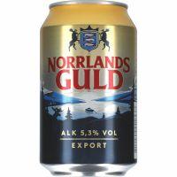 Norrlands Guld Export Beer 5.3% 24 x 330ml
