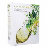 "Casas Patronales Chardon/Sauvignon Blanc 13%   ""Bag in Box"" 3L"