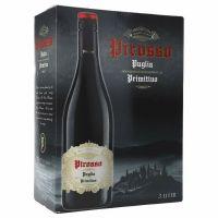 """Pirosso Puglia Primitivo 13%   """"Bag in Box"""" 3L"""