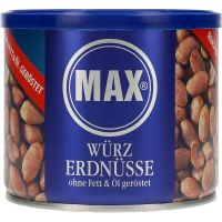 Max Spicy Peanuts roasted without oil 300 g