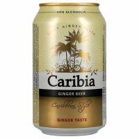 Harboe Caribia Ginger Beer alkoholfri 24 x 33 cl