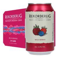 Rekorderlig Wild Berries Cider 4.5% 24 x 330ml