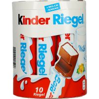 Kinder Chocolate Bars 10 x 21g