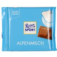 Ritter Sport Chocolate Alpine Milk 100g