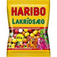Haribo licorice egg 325 g