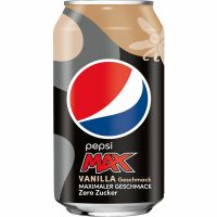 Pepsi Max Vanilla 24X0,33 Ltr