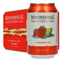 Rekorderlig Cider Strawberry Lime 4,5% 24 x 330ml