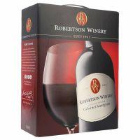 """Robertson Winery Cabernet Sauvignon 14%   """"Bag in Box"""" 3L"""