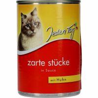 Jeden Tag Cat Food Chicken & Sauce 415g