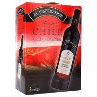 "El Emperador Cabernet Carmenere Red Wine 13% ""Bag in Box"" 3L"