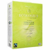 "Ecologica Torrontes & Chardonnay 12,5%, Fairtrade   ""Bag in Box"" 3L"