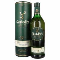 Glenfiddich Single Malt 12 Year Old Whisky 40% 1L