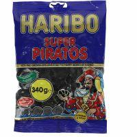 Haribo Super Piratos Liquorice Coins 340g
