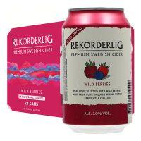 Rekorderlig Wild Berries Extra Strong Cider 7% 24 x 330ml