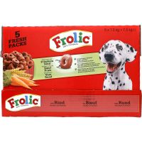Frolic Dry Dog Food with Beef, Carrots & Cereal 7.5kg