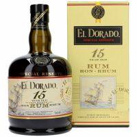 El Dorado Rom Guyana 15 years 43 % 0.7L