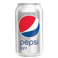 Pepsi Light 24x0,33 ltr. (Best Before 10.2021)